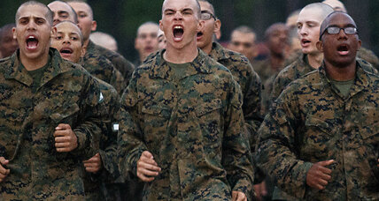 New Marine Corps fitness standards: Women, and men, are washing out