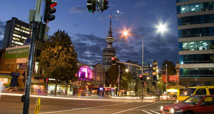 Why New Zealand's largest city is paying its citizens to leave