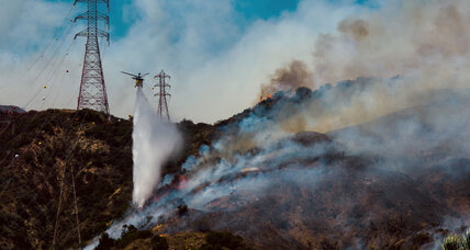 How aerial mapping has helped contain San Gabriel Complex fire