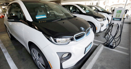 BMW's recycled electric car batteries to power homes