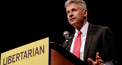 Will voters be swayed by Libertarian candidate Gary Johnson?