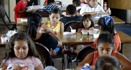 How to feed children when school meals end for summer vacation