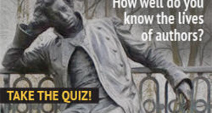 How well do you know the lives of authors? Take the quiz