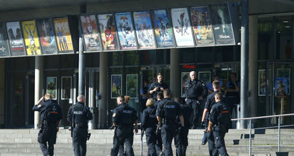 Police kill gunman at German movie theater. What are Germany's gun laws? (+video)
