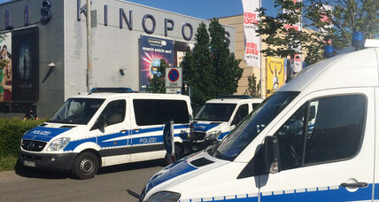 German police kill gunman who stormed cinema, no other fatalities