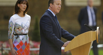 David Cameron resigns: will 'Brexit' define his legacy?