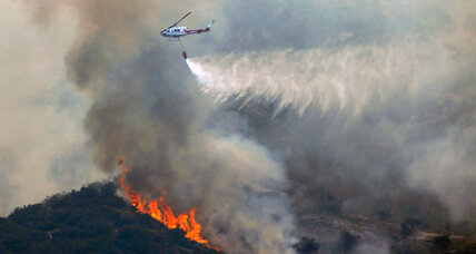 Lake Isabella fire underscores Forest Service plea for wildfire disaster fund