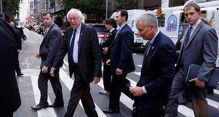 Sanders' movement isn't 'Berning' out – but he will vote for Clinton