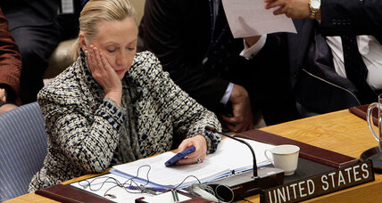 Why did Clinton omit meetings from State Department calendar?