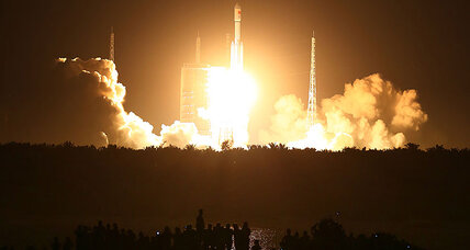 Rocket launch success keeps China on track for second space station