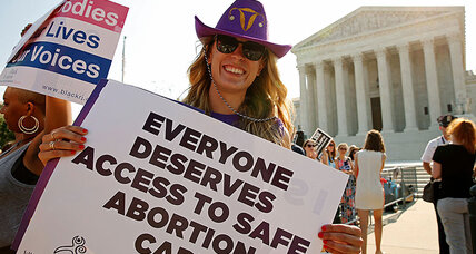 Citing 'undue burden': Supreme Court strikes down Texas abortion law (+video)