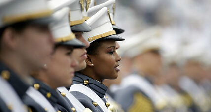 Women at Coast Guard Academy: Record high enrollment