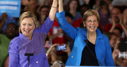 Warren: Clinton can be trusted to fight Donald Trump