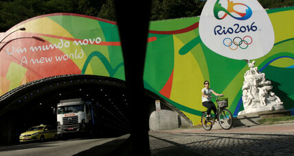 Why did the Rio de Janeiro governor say the Olympics could be a 'big failure'?