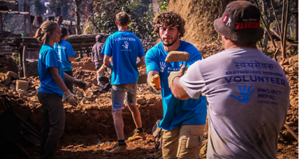 One nonprofit's way of responding to natural disasters – more than 60 of them