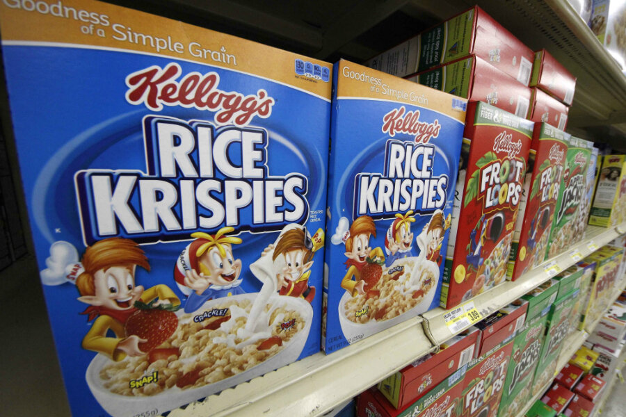 Breakfast Cereal Cafe Set To Open In New York Will Millennials Care New Kellogg's Cereal Display Stand