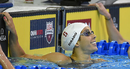 At US Olympic swim trials, a changing of the guard