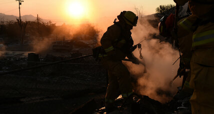California firefighters succeed in controlling Erskine wildfire