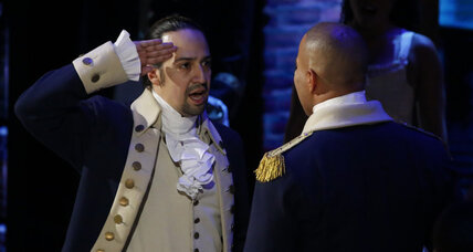 Why is 'Hamilton' one of the few acclaimed works of art to depict the American Revolution?