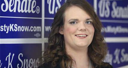Will a transgender woman be Utah's next senator?