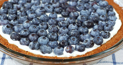 Celebrate the Fourth of July with a blueberry yogurt tart