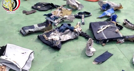 Egypt Flight 804 black box points to fire on board