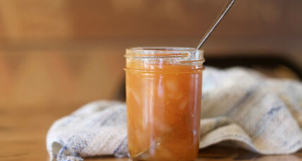 Quick stone fruit preserves