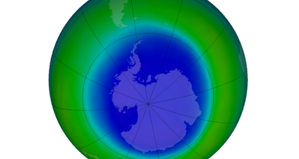 Ozone hole on the mend, say scientists
