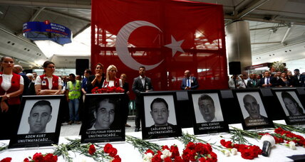 Official: Turkish airport attackers from Russia, Central Asia