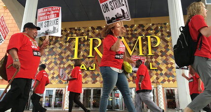 Trump Taj Mahal workers on strike: How the labor movement has evolved