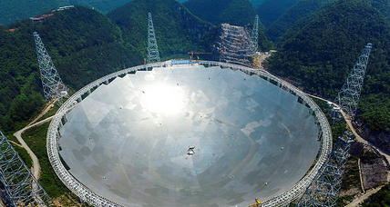 China makes big statement with huge, alien-hunting telescope