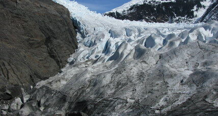 What triggered the massive Glacier Bay landslide?