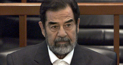 Why Donald Trump praises Saddam Hussein