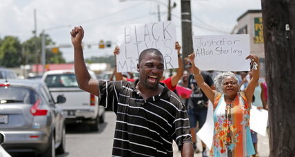 How response to Alton Sterling shooting is different – and maybe the same