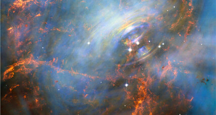 Hubble captures spectacular shot of Crab Nebula's pulsing 'heart'