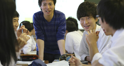 In aging Japan, 18-year-olds now welcomed into the voting booth