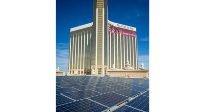 Las Vegas goes solar: good news for some, bad for others