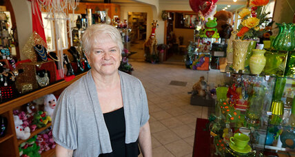 A florist caught between faith and financial ruin