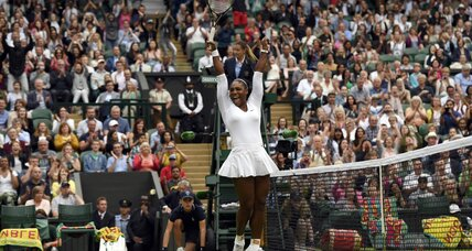 Serena Williams wins 22nd Grand Slam title at Wimbledon on Saturday