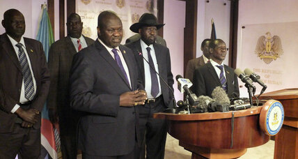 Renewed fighting in South Sudan, former rebel side blames government