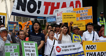 North Korea promises 'physical response' to THAAD deployment