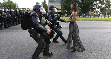 What an iconic photo from Baton Rouge protest says about BLM