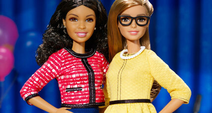 Barbie runs for president, but this time it's on an all-female ticket