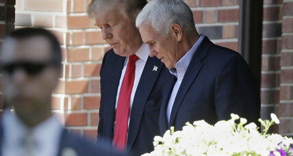 Balancing act: Mike Pence lends stability to Trump ticket