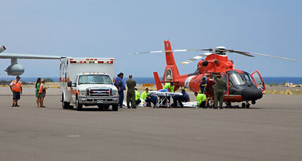 Two rescued near Hawaii after plane crashes into sea