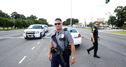 Several on-duty officers shot in Baton Rouge; officials say scene is contained