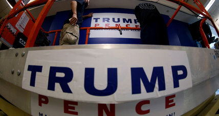 The Trump show and the irony of a 'showbiz' GOP convention (+video)
