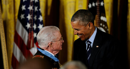A Medal of Honor – and inspiration for nation in turmoil (+video)