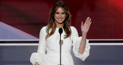 Melania Trump ignites GOP convention after gloom, turmoil