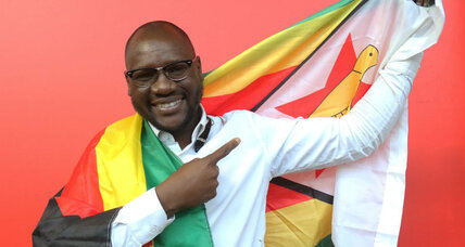 Who is the pastor inspiring Zimbabwe's #ThisFlag demonstrations?